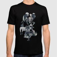 Suburban Apparition Black SMALL Mens Fitted Tee