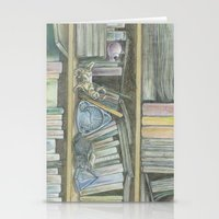 RHX Bookshelf Logo Stationery Cards
