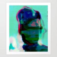 Electric Obake #25 Art Print