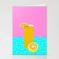 Lemonade /// www.pencilmeinstationery.com Stationery Cards