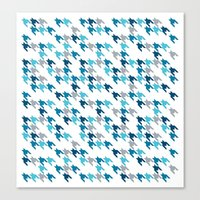 Blue Tooth #2 Canvas Print