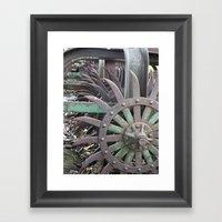 Farming - Tools Of The T… Framed Art Print