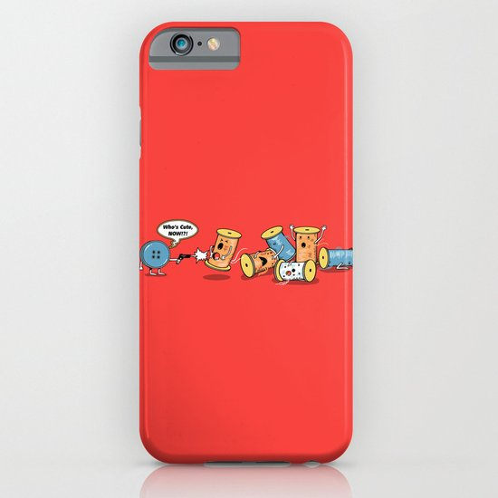 Who's Cute Now!? iPhone & iPod Case