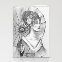 Elegant Oriental Japanes… Stationery Cards