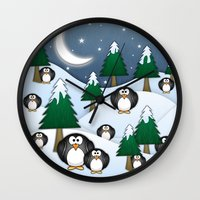BRRRRRR! It's Chilly Wall Clock