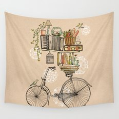 Pleasant Balance Wall Tapestry