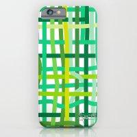 iPhone & iPod Case featuring Springtime Woven. by Sylvie Heasman