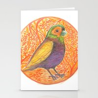 Bird in a Thicket Stationery Cards