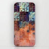 Digital Checkerboard iPhone & iPod Skin