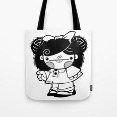 Mafalda Chestnut Girl Tote Bag