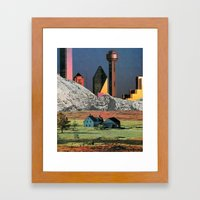 Homestead Blues Framed Art Print