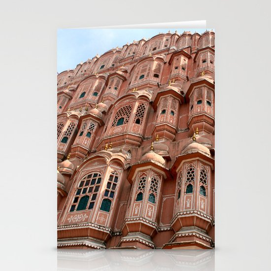 Balconies      (color) Stationery Card