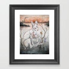 Ghosts From The Flood Plain Framed Art Print