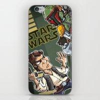 Star Wars - Han Solo x Bobba Fett iPhone & iPod Skin