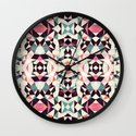 Retro Light Tribal Wall Clock