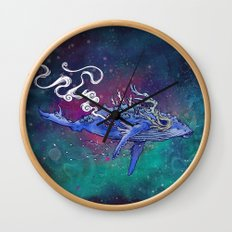 The Last Whale Wall Clock