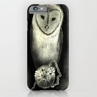 iPhone & iPod Case featuring Owl Knows by Violet Tobacco