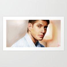 Dean Winchester Art Print