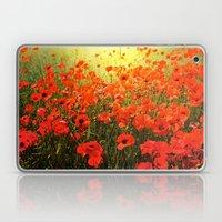 Field Of Poppies Laptop & iPad Skin