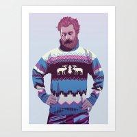 80/90s - Trmd Art Print
