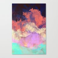 Canvas Print featuring Into The Sun by Galaxy Eyes