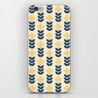 Vintage Geometric Flower… iPhone & iPod Skin