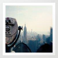 Empire State Building NY… Art Print