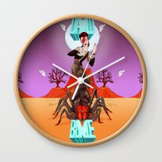Spiders from Mars  Wall Clock