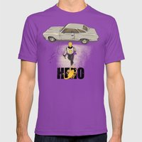 Real Hero Mens Fitted Tee Ultraviolet SMALL