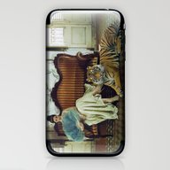 iPhone & iPod Skin featuring Tiger by Lídia Vives