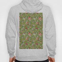painted floral Hoody