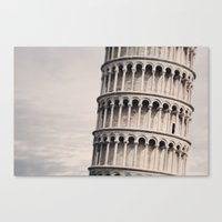 Torre Di Pisa Canvas Print
