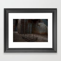 Hollow Cart Framed Art Print