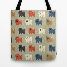 Chow Chow Tote Bag