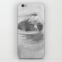 Wind in her hair iPhone & iPod Skin