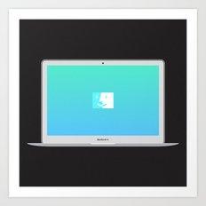MacBook Air  Art Print