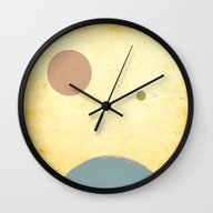 Wall Clock featuring Undiscovered by Tammy Kushnir