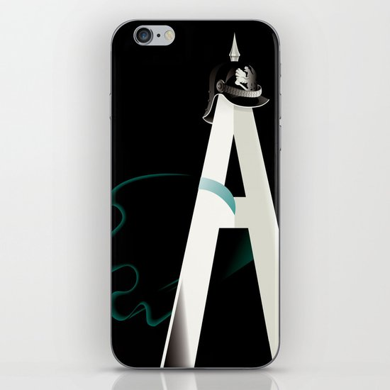Tyranny of the Alphabet iPhone & iPod Skin
