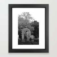 Watch Over Me Framed Art Print