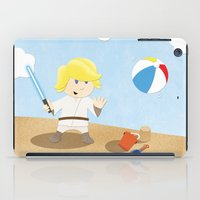 SW Kids - Luke at the Beach iPad Case