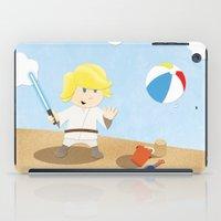 SW Kids - Luke At The Be… iPad Case