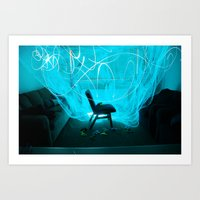light, light, light  Art Print
