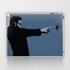 Kittappa Series - Blue Laptop & iPad Skin