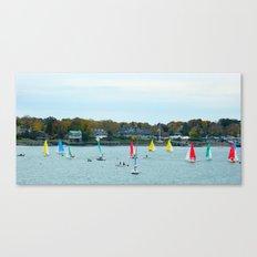 SAILING FUN Canvas Print