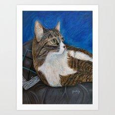 Moog Portrait Art Print