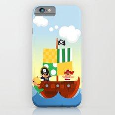 pirate ship iPhone 6s Slim Case
