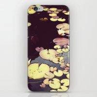 Sea Of Flowers iPhone & iPod Skin