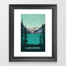 Lake Louise Framed Art Print