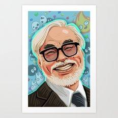 The Legend Art Print