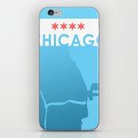 Minimalist Chicago iPhone & iPod Skin
